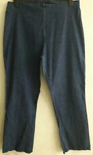 NEW LOOK INSPIRE SIZE 24 STRETCHY DENIM HIGH WAISTED JEANS GOOD COND'N FREE P&P