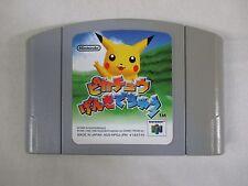 N64 -- Pikachu Genki de Chu -- Can data save! Nintendo 64, JAPAN Game. 22958