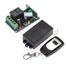 433Mhz DC 12V 10A 1CH Wireless RF Remote Control Switch Transmitter + Receiver