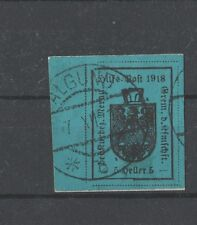 Merano 1918, Italy Provisional, Austria occupation, signed Vignati
