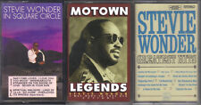 STEVIE WONDER: Lot of 3 cassettes, Legends, In Square Circle, Greatest Hits