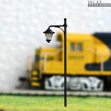 10 pcs HO scale street Light LED Lamppost Cold Lamp NO melt Long life #Y0513