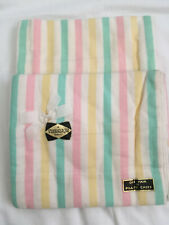 More details for vintage tregmor new pair of candystripe brushed flanellette cotton pillow cases