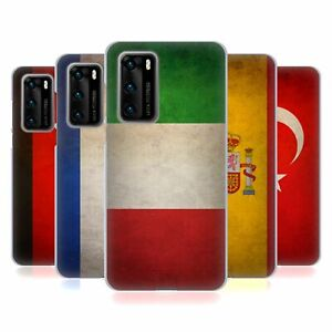 HEAD CASE DESIGNS GRUNGE COUNTRY FLAGS 2 SOFT GEL CASE FOR HUAWEI PHONES 4