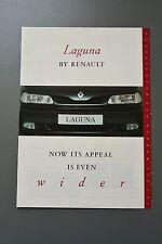 UK Sales Brochure Renault Laguna Fold Out Type 1995