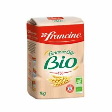 French Bio Organic Wheat Flour T55 2.2 lb (1kg)