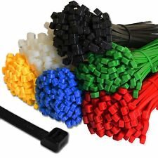 Cable Ties Premium Tie Wraps Nylon Zip Ties Long All Sizes & Colours