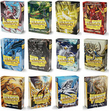 DRAGON SHIELD SMALL CARD SLEEVES MATTE JAPANESE SIZE / YUGIOH SLEEVES 60 count