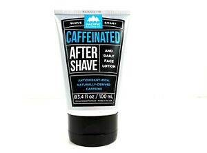 Pacific Shaving Co. Caffeinated After Shave Cream Face Lotion 3.4oz Made USA