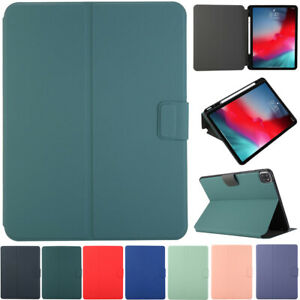 """For iPad Pro 12.9"""" 2018 2020 3rd 4th Gen Smart Case Stand Cover With Pencil Slot"""