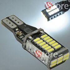 Lampada Led T15 Retromarcia 30SMD Luci Canbus No Errore W16 Bianco 12V Auto