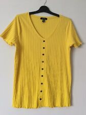 New Look Maternity Top Size 14 Yellow