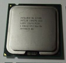 Lot of 10 INTEL Core 2 Duo E7400 SLB9Y 2.80GHz 3MB 1066MHz LGA775 CPU Processor