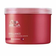 Wella Brilliance Treatment Mask for Fine/normal Hair 500ml X2