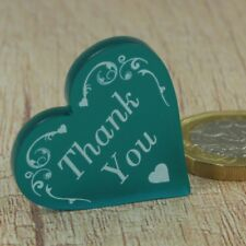 Wedding Thank You Favours 3cm Love Heart Table Gifts Favour Decorations 26 Pack