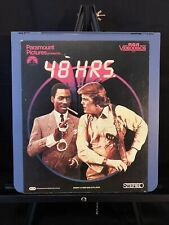 48 Hrs.1982 Eddie Murphy RCA CED SelectaVision VideoDisc Used Tested Works