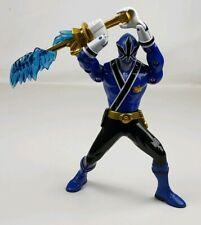 "2011 Bandai  Power Rangers Samurai - 6"" Sword Morphin Blue Ranger  2011"