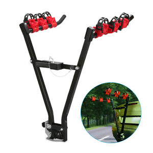 Car Bicycle Stand SUV Car Rear Rack Bicycle Bike Holder Stand Storage Carrier