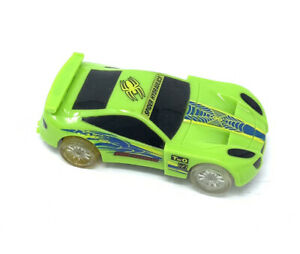 1:43 Scale Spin Drive Slot Car Green Spider Hydraulic x7 Racing T.W.O Loose Used