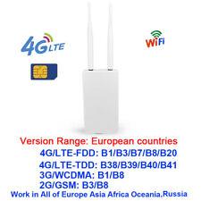 Unlocked 4G LTE Wireless Router Smart Home Mobile WIFI Hotspot RJ45 Port FDD TDD