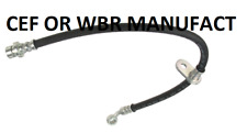 MANUFACT WBR CEF Brake Hydraulic Hose Rear Left fits 03-07 Honda Accord