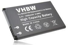 Batterie pour HTC Desire S, PG88100, S510, S510E, Saga / Salsa / C510 C510e