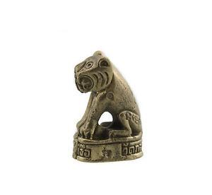 Amulett Amulet Glücksbringer Tiger Fortune Luck Glück Thai H12