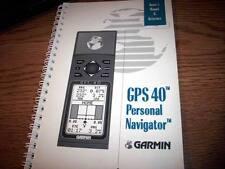 Garmin GPS 40   Owner's Manual