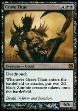 Magic PLD foil 'Titano Sepolcrale - Media Promos' (Grave Titan - Media Promos)