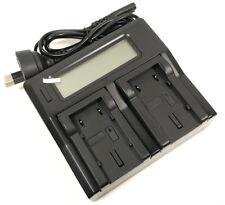 FAST LCD Battery Charger For JVC BN-VF808U BN-VF808 BN-VF814U BN-VF814 Camcorder