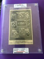 1914 Reach Vintage Cracker Jack Era Slabbed/Graded NM 7 Christ Mathewson HOF
