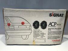 Signat ACP Car Speakers Opel Astra/Renault 19, Heck