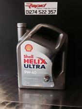 Huiles de moteur synthétiques Shell pour véhicule 5 L