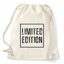 Art T-shirt, Zaino Limited Edition, Bianco, Sacca Gym