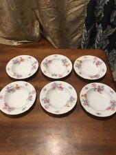 Set Of 6 MINTON china BERKSHIRE 1923 pattern Fruit Side Bowls EC