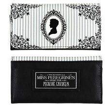 Miss Peregrine's Home For Peculiar Children Cameo Flap Wallet Black & White NWT