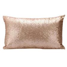 Sequins Glitter Cushion Cover Case Car Sofa Throw Pillow Home Decor 30 x 50cm