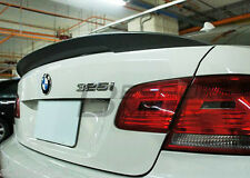 BMW E92 HIGH KICK SPOILER 3 SERIES BOOT WING TRUNK M3 CSL REAR PERFORMANCE LIP