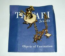 HTF TRIFARI 1997 Objects of Fascination Pin Enamel Pig Mama 4 Babies Go to Town