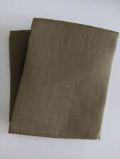 Cross stitch fabric 28 count brown linen one yard