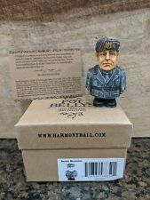 Harmony Kingdom Ball Historical Pot Belly Benito Mussolini With Box and Card