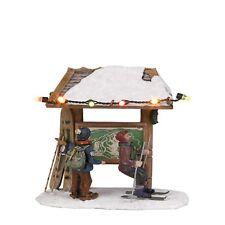 Luville ski route, Christmas village Winter village, model making