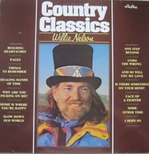 WILLIE NELSON - COUNTRY CLASSICS - LP