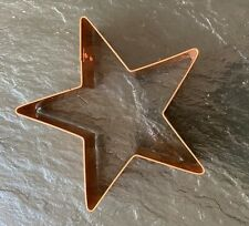 """New listing Never Used - Crate And Barrel Copper Cookie Cutter - Northern Star 5"""""""