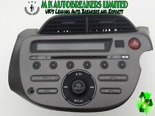 Honda-Jazz From 09-13 Radio CD Player MP3 (Breaking For Spare Parts)