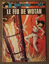 """YOKO TSUNO 14 EO """"le feu de Wotan"""" LELOUP"""