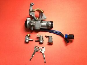 2000-2003 KIA SPECTRA IGNITION DOOR TRUNK LOCK CYLINDER SWITCH SET USED OEM!