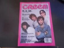 R.E.M., Tangerine Cream, Genesis - Creem Magazine 1986