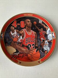 Vintage Michael Jordan The Sweep Return To Greatness Plate 13207A Chicago Bulls