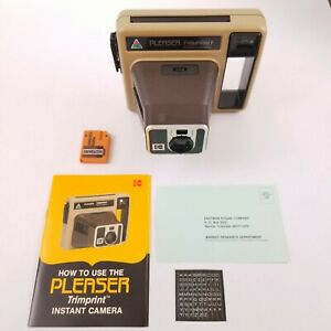 NOS Kodak Pleaser Program Instant Trimprint Camera
